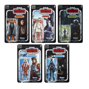 Star Wars Black Series 40th Anniversary Empire Strikes Back Wave 2 Set of 5 - Pay in full